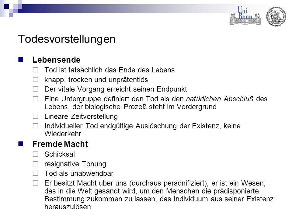 Umfrage der Deutschen Hospiz Stiftung II Deutsche Hospiz Stiftung, Befragung Juni 2000, N=1007