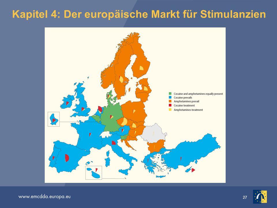 27 Kapitel 4: Der europäische Markt für Stimulanzien