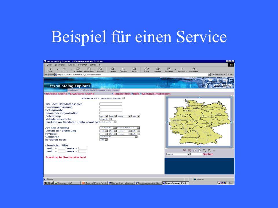 Beispiel für einen Service