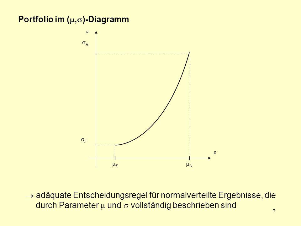 18  für  =   für  =  für  = 1  eher pessimistsiche Grundhaltung, da nur die negativen und nicht gleichzeitig die positiven Aspekte berücksichtigt werden 1  1 2 3 4 5 6 7 8 9 10 11 12