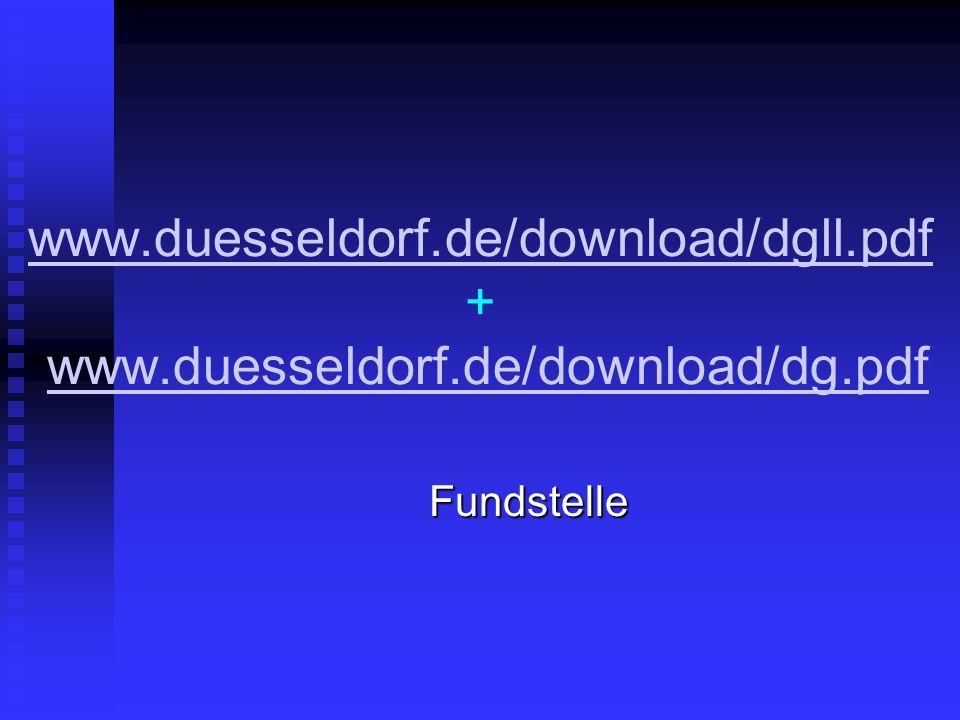 www.duesseldorf.de/download/dgll.pdf www.duesseldorf.de/download/dgll.pdf + www.duesseldorf.de/download/dg.pdfwww.duesseldorf.de/download/dg.pdfFundst