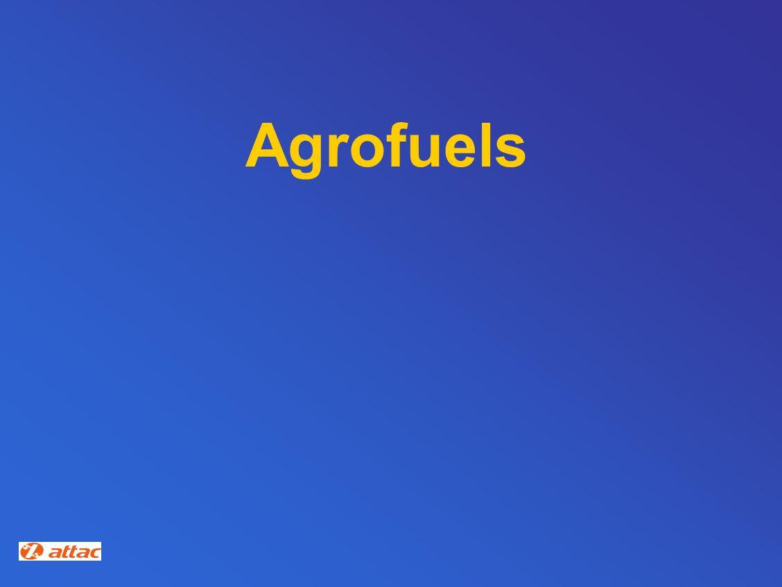Agrofuels