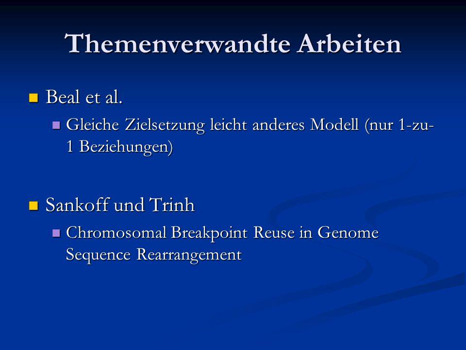Themenverwandte Arbeiten Beal et al. Beal et al.