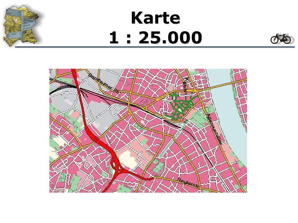 Karte 1 : 50.000