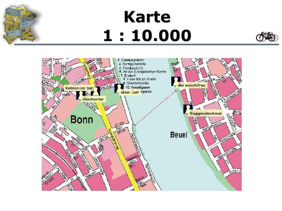 Karte 1 : 25.000