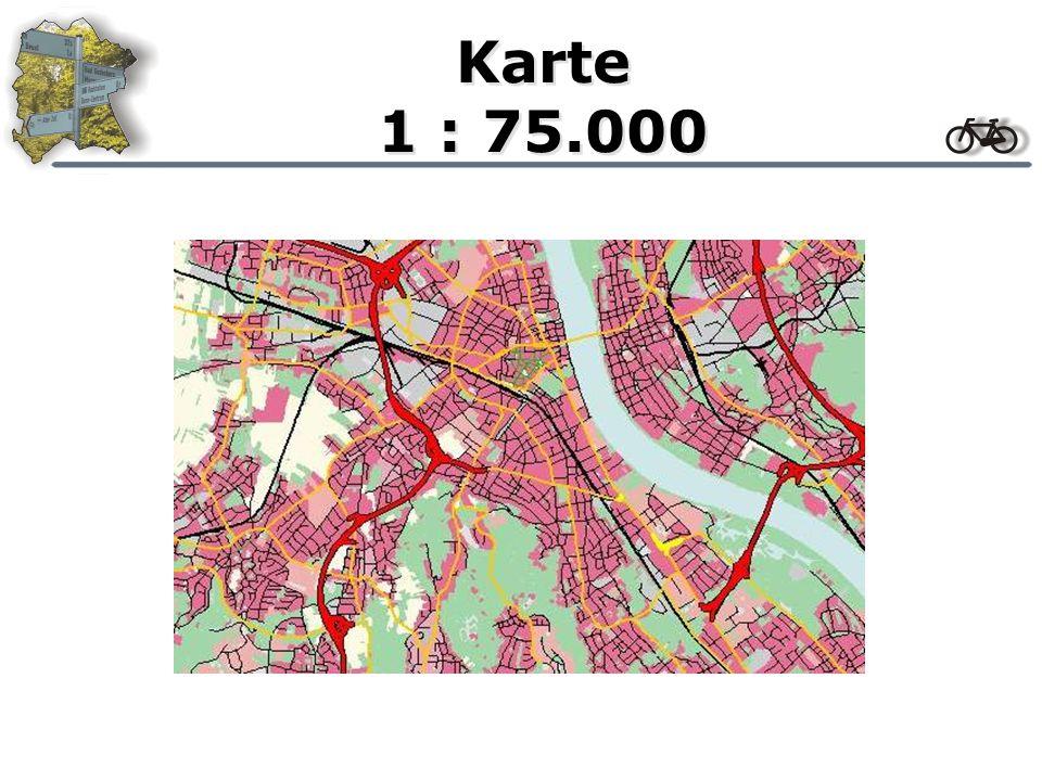 Karte 1 : 100.000