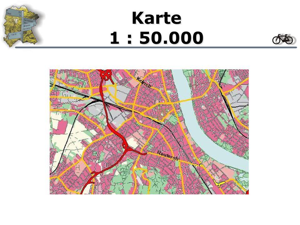 Karte 1 : 75.000