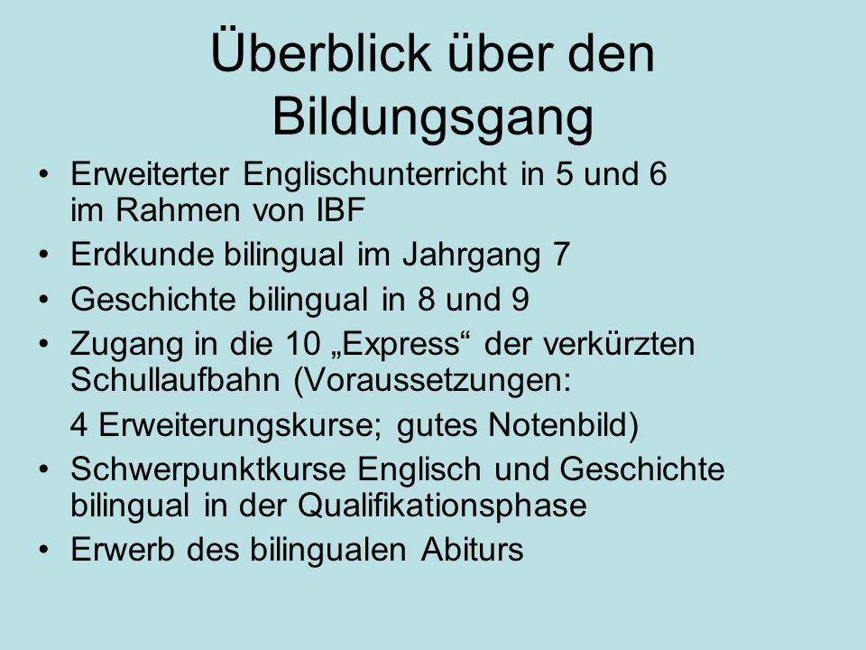 Die Sachfächer in der Sek. I Erdkunde in Klasse 7 Geschichte/ Politik in Klasse 8 und 9