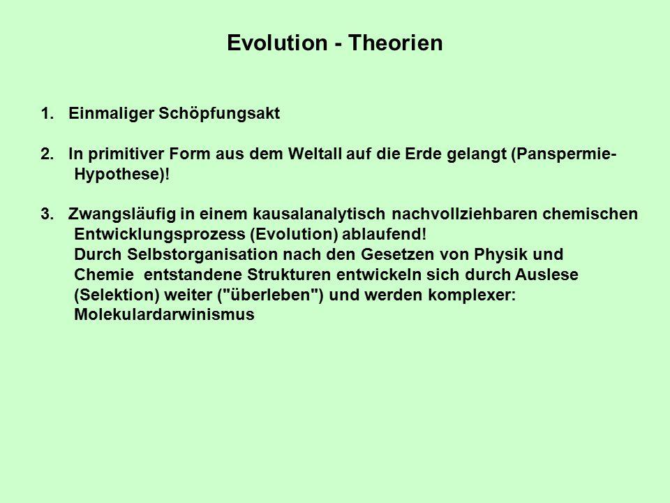 Aufgaben von Evolutionsforschung: 1.Verwandtschaft heutiger Organismen feststellen 2.Historischen Ablauf der Evolution rekonstruieren, Fossilien integrieren 3.Gründe für die historische Entwicklung ableiten Evolutionsforschung, Aufgaben