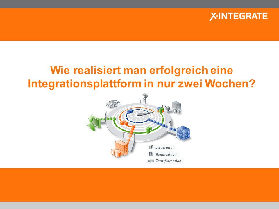 Company and business model short overview – November 2009 www.x-integrate.com 7 Anwendungsintegration – Die klassische Variante