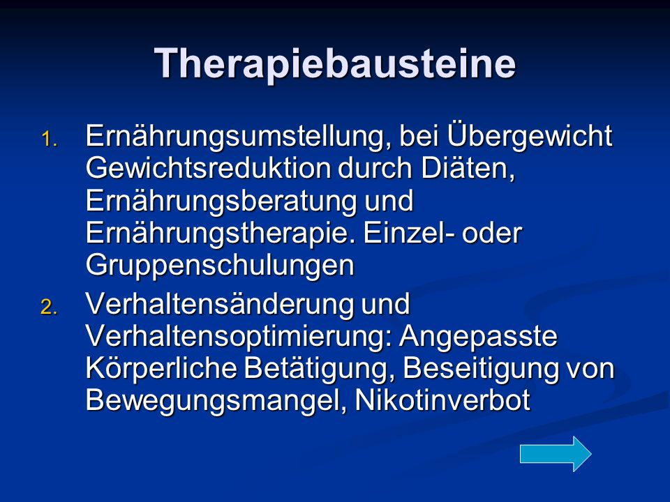 Therapiebausteine 1.