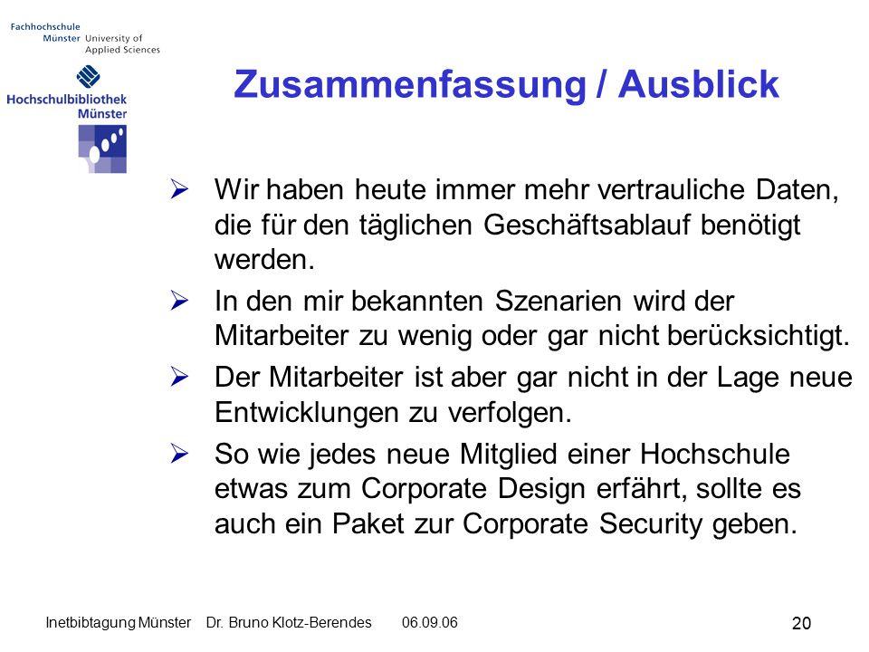 20 Inetbibtagung Münster Dr.