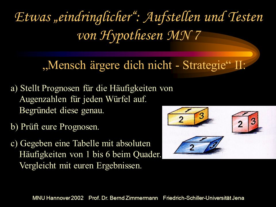 MNU Hannover 2002 Prof. Dr.