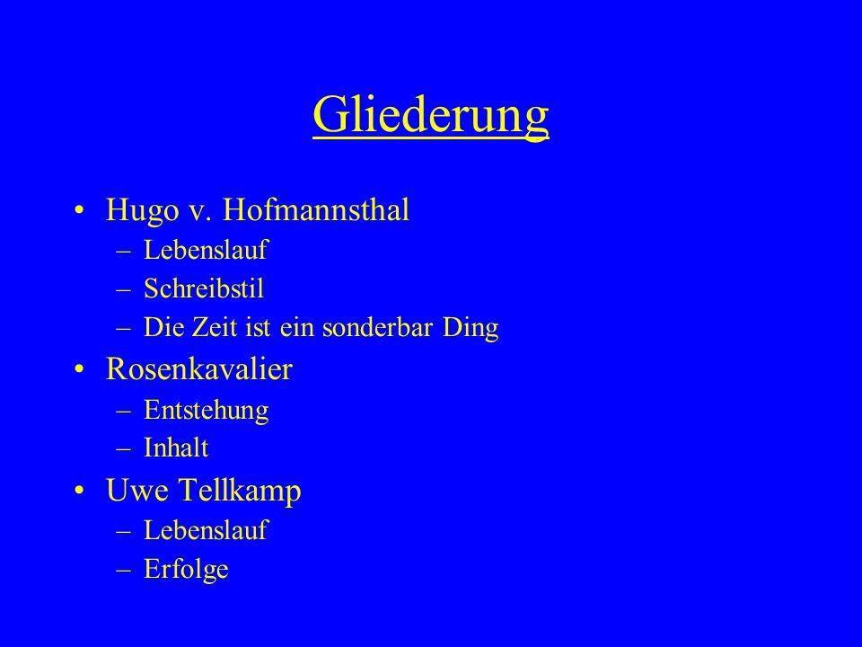 Gliederung Hugo v.