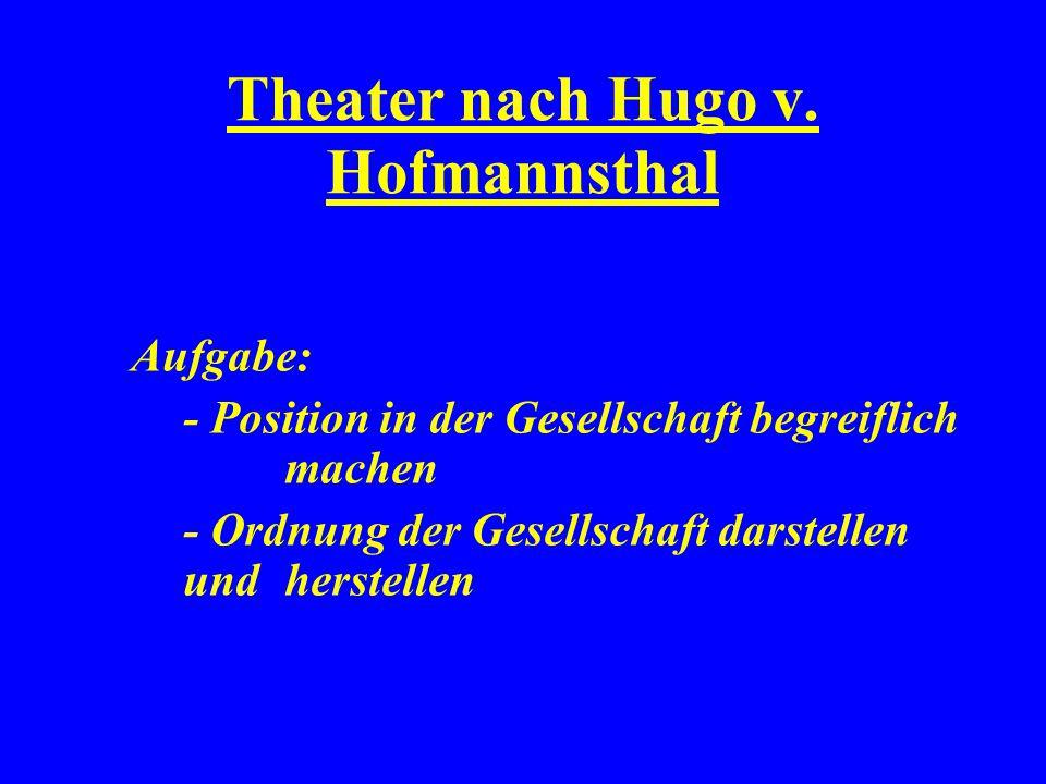Theater nach Hugo v.