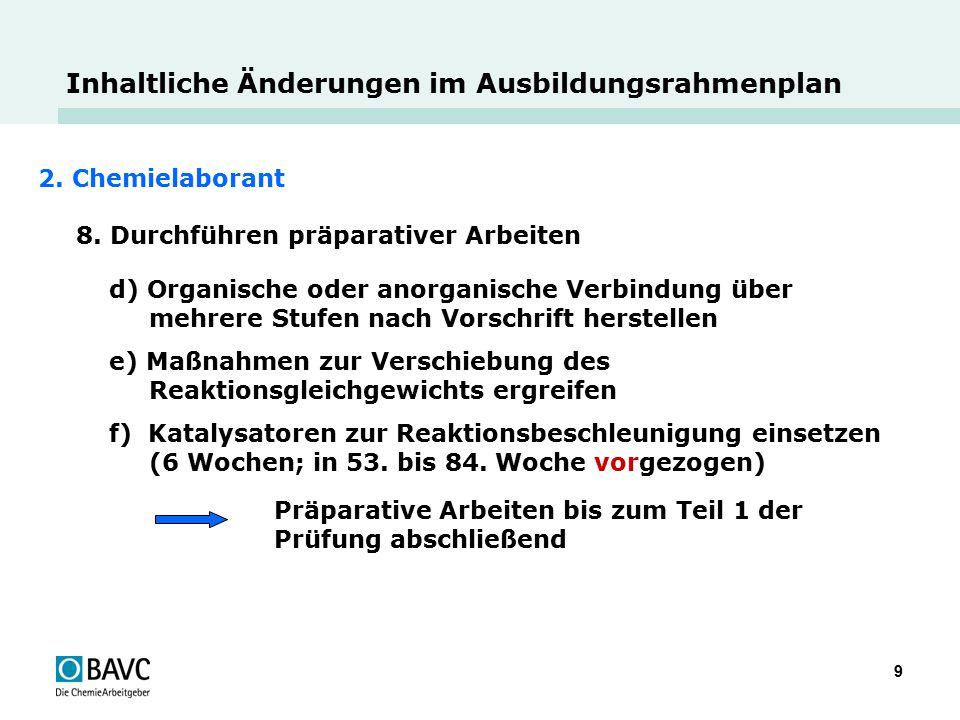 10 Änderungen im Paragrafenteil (generell)  Einordnung der integrativen Qualifikationen (1.