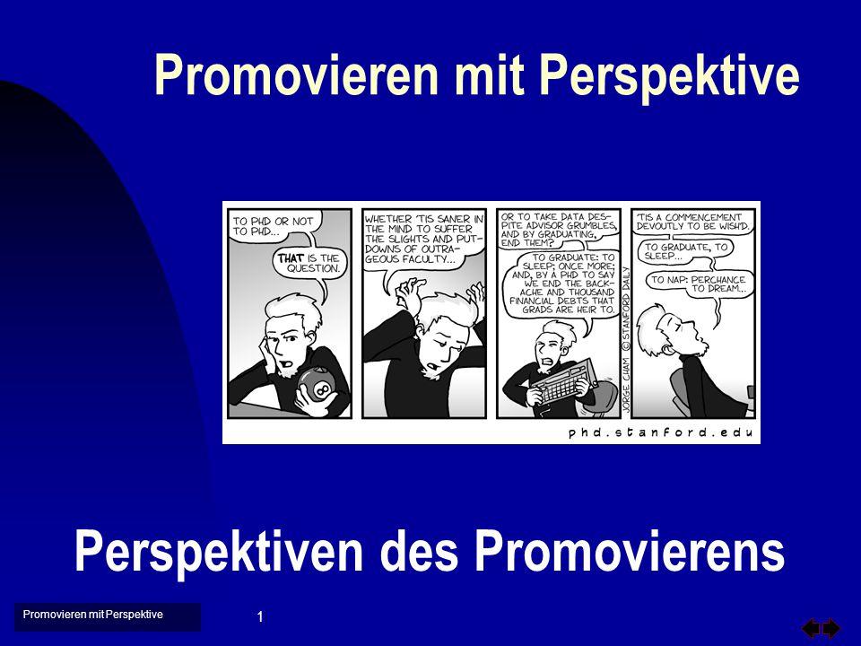 Promovieren mit Perspektive 2 Gliederung u Promotionen und Promovierende u Positionen der Akteure u Hochschulrahmen- und Landeshochschulgesetze u Programme zur Promotion u Fragen und Forderungen