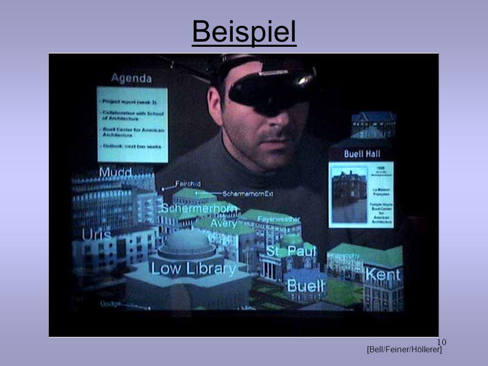 10 Beispiel [Bell/Feiner/Höllerer]