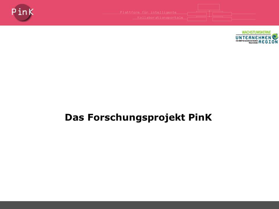 Das Forschungsprojekt PinK
