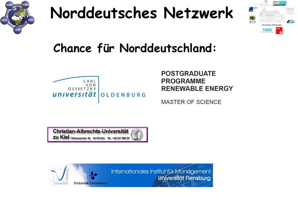 Norddeutsches Netzwerk Oldenburg Kiel Chance für Norddeutschland: