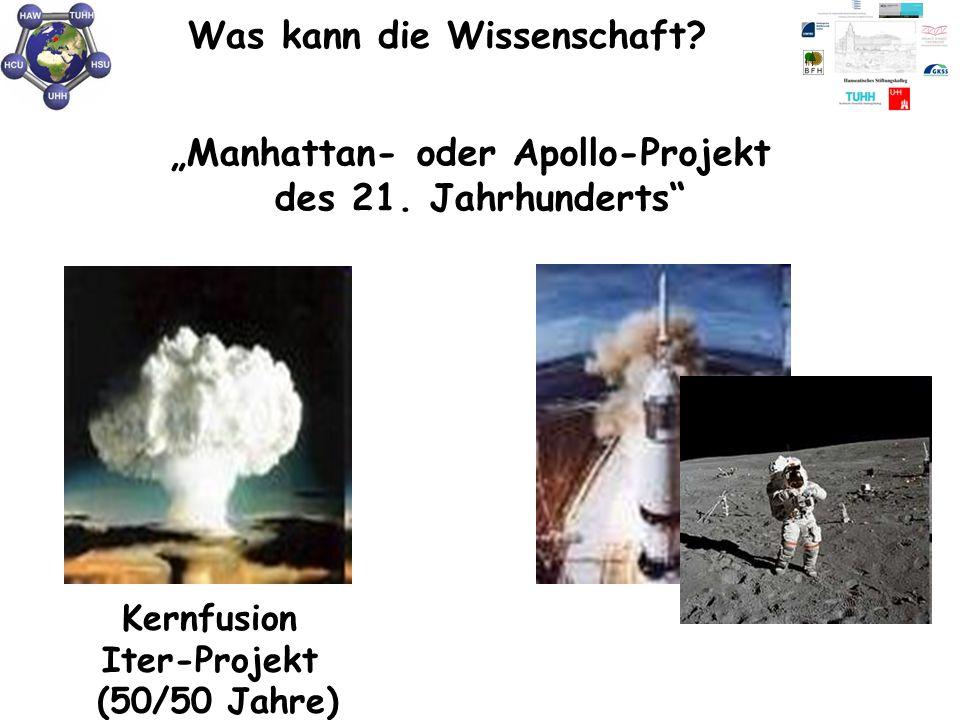 """Was kann die Wissenschaft? Kernfusion Iter-Projekt (50/50 Jahre) """"Manhattan- oder Apollo-Projekt des 21. Jahrhunderts"""""""