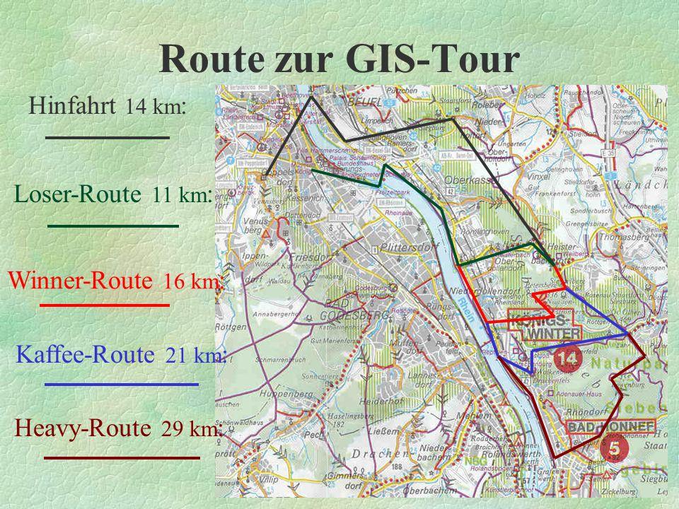 Bewertung Wie könnte Routenplanung in Zukunft aussehen.