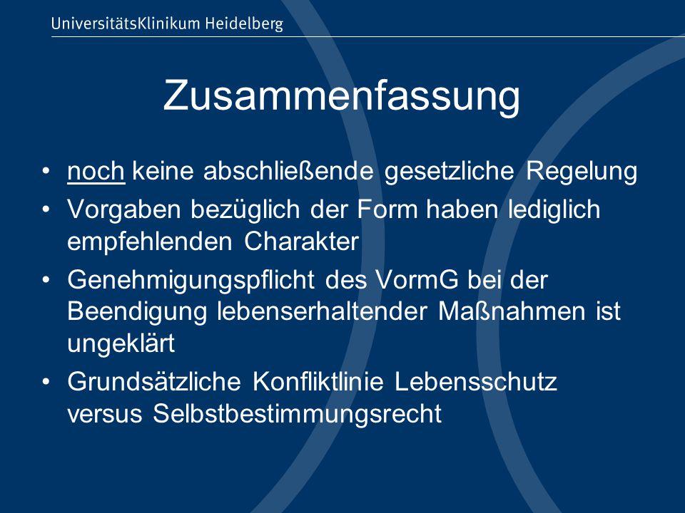 Infos aus dem Internet http://www.bmj.bund.de/enid/Familienrecht /Patientenautonomie_ox.htmlhttp://www.bmj.bund.de/enid/Familienrecht /Patientenautonomie_ox.html Bundesjustizministerium http://www.patientenverfuegung.de/ Humanistischer Verband Deutschland http://www.hospize.de/ Deutsche Hospiz Stiftung