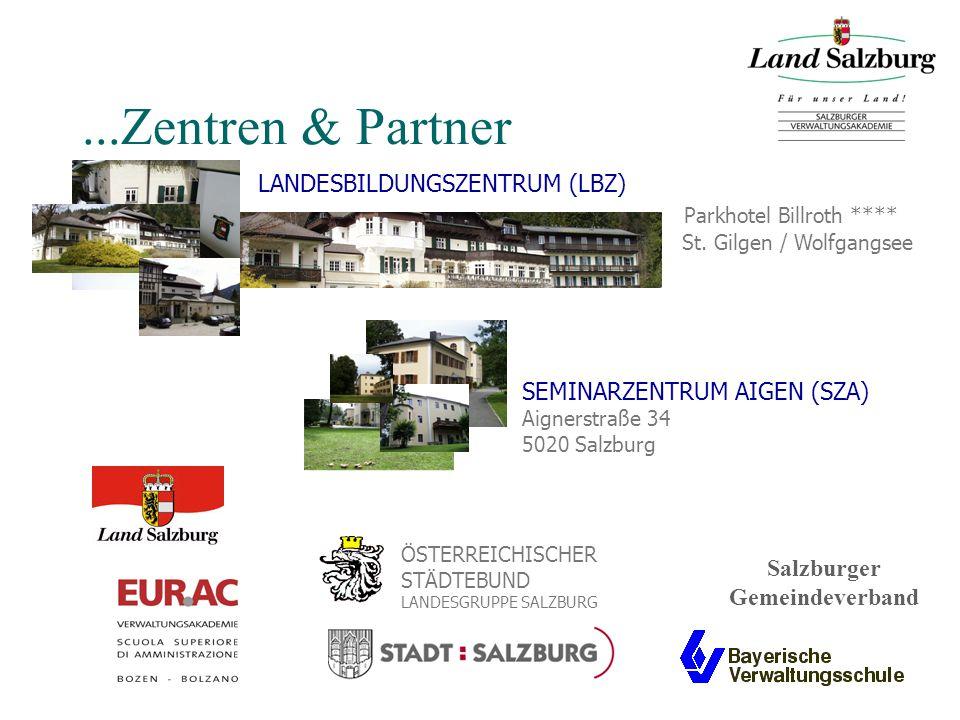 ...Zentren & Partner LANDESBILDUNGSZENTRUM (LBZ) Parkhotel Billroth **** St.