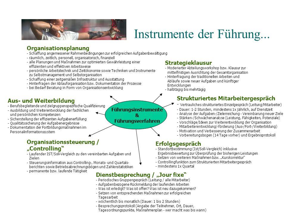 Instrumente der Führung...