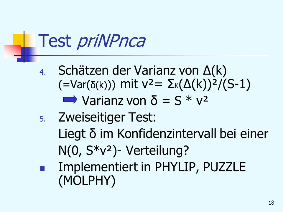 18 Test priNPnca 4.