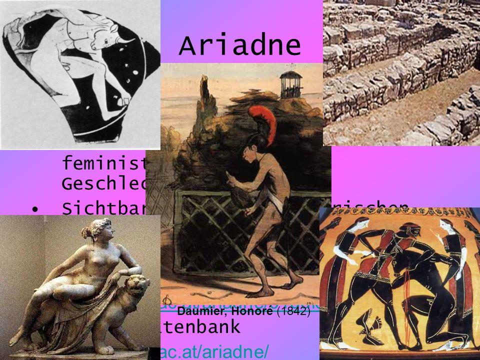 11 Ariadne Serviceeinrichtung der Österreichischen Nationalbibliothek Sammeln und Aufbereiten von Literatur zur Frauen-, feministischen und Geschlecht