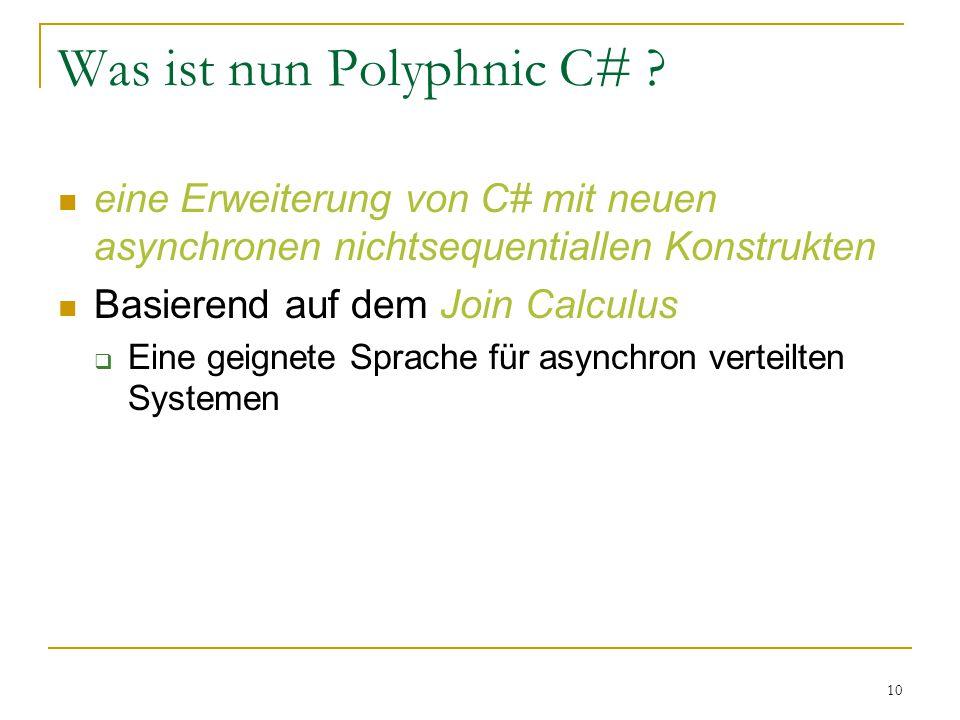 10 Was ist nun Polyphnic C# .