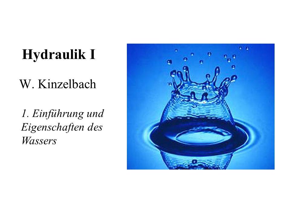 Wasserdiziplinen Grundlagenfächer –Hydromechanik (Hydraulik) –Hydrologie Anwendung –Wasserwirtschaft –Wasserbau –Siedlungswasserwirtschaft