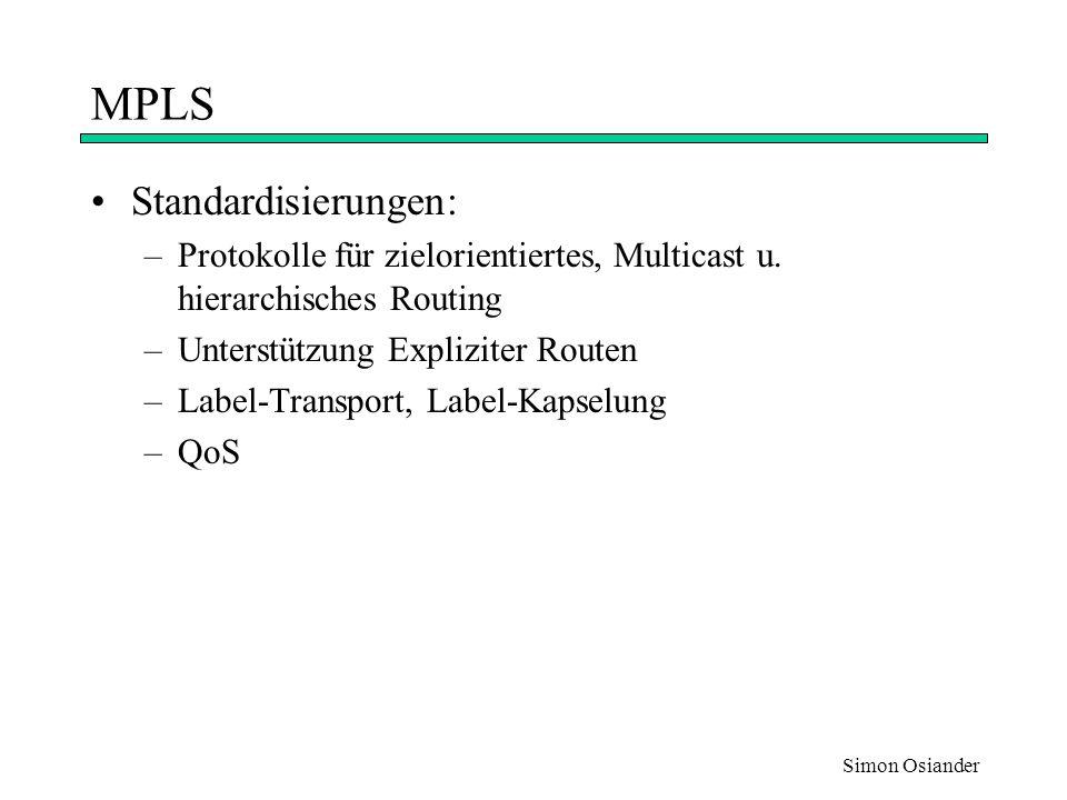 Simon Osiander Layer 4-Switching Paketweiterleitung auf Basis der Schicht 4 Information (z.B.