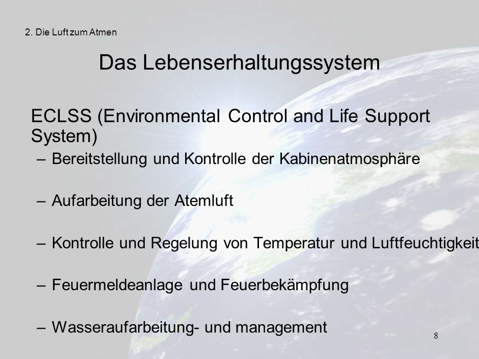19 Luftverschmutzung – Materialabgasungen – Lecks – auslaufende Flüssigkeiten – Körperausdünstungen 2.
