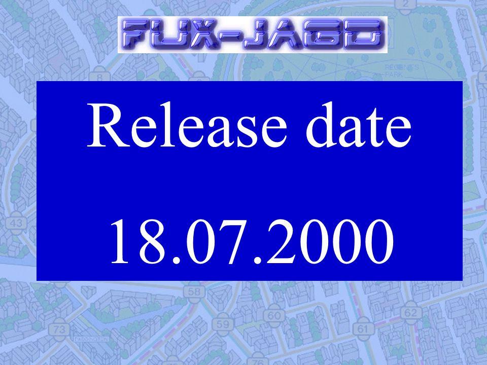 Release date 18.07.2000