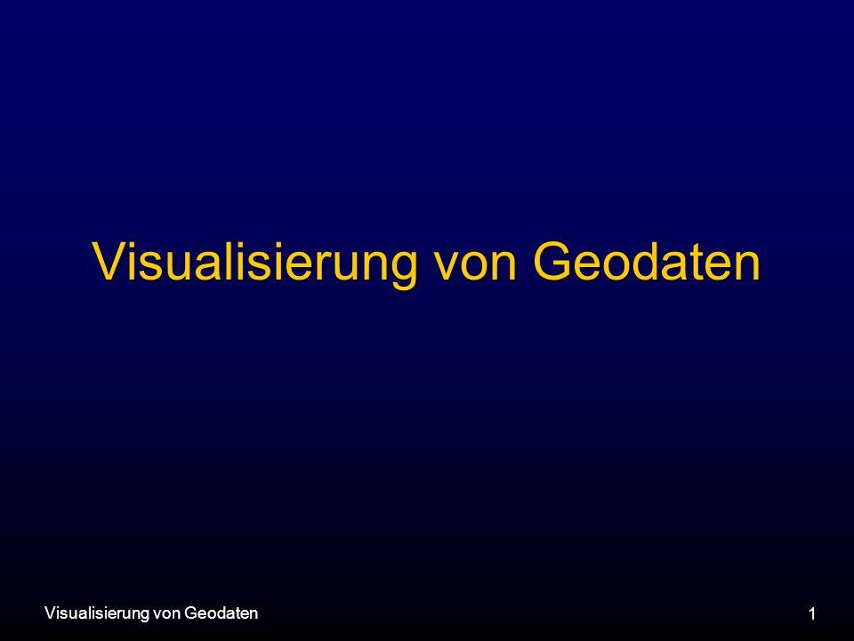 Visualisierung von Geodaten 1