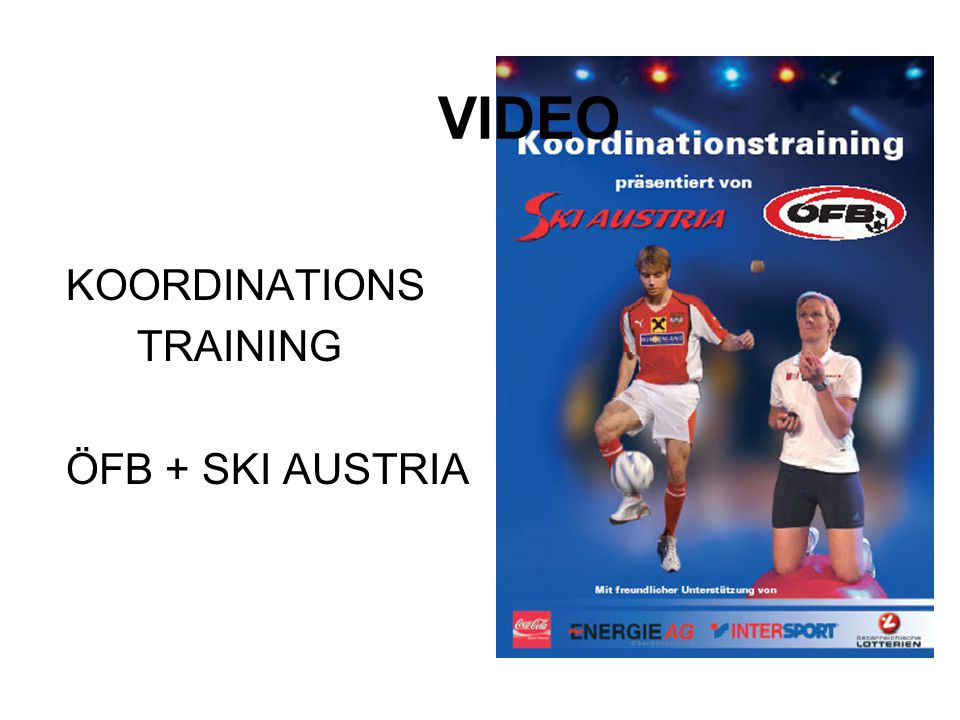 VIDEO KOORDINATIONS TRAINING ÖFB + SKI AUSTRIA