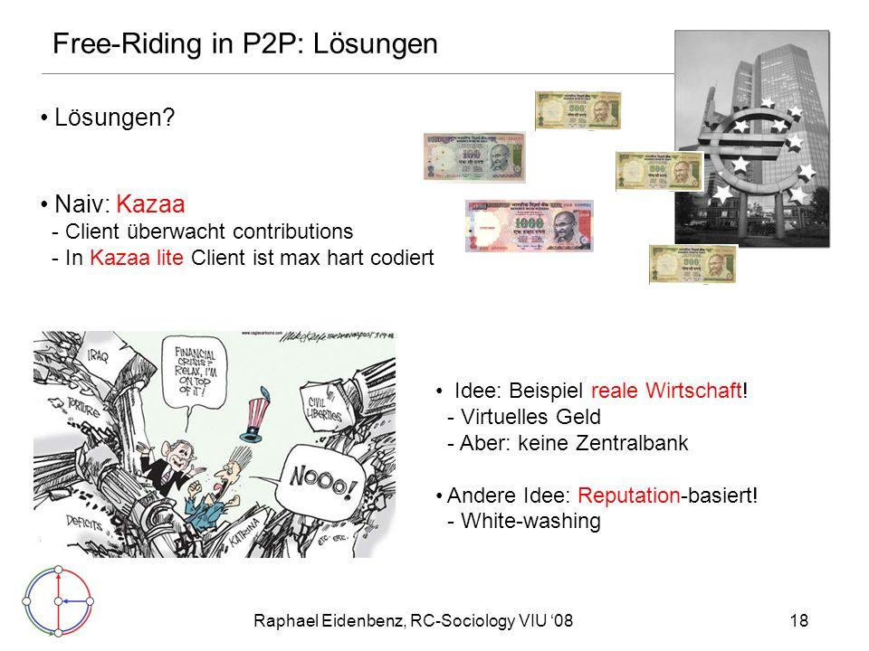 Raphael Eidenbenz, RC-Sociology VIU '0818 Lösungen.