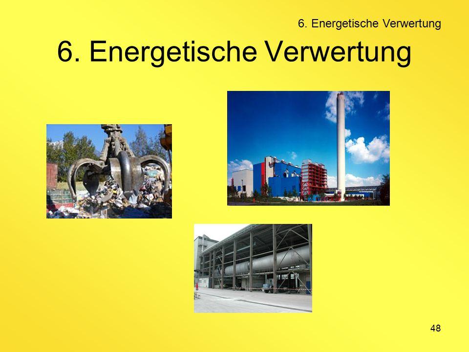48 6. Energetische Verwertung