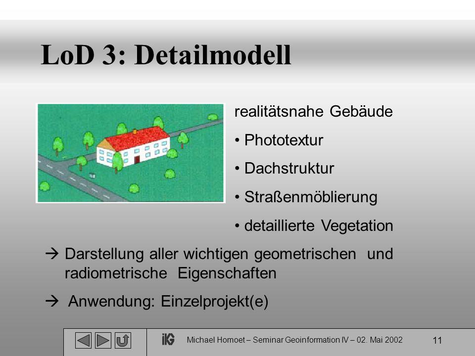 Michael Homoet – Seminar Geoinformation IV – 02.