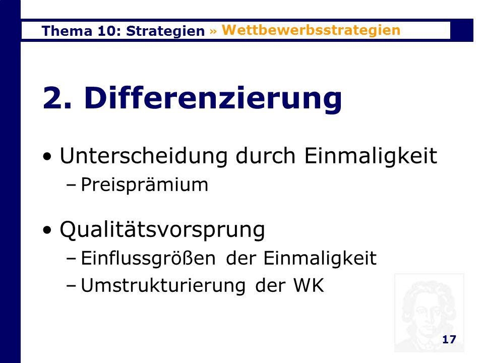 Thema 10: Strategien 18 3.