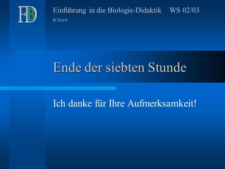 Einführung in die Biologie-Didaktik16 Ergänzungen: Wie interpretiere ich ein Kurvendiagramm.