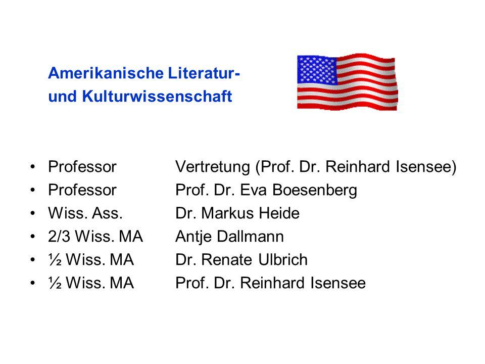 Sprachwissenschaft ProfessorProf.Dr. Susan Olsen ProfessorProf.