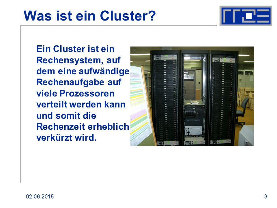 02.06.20153 Was ist ein Cluster.