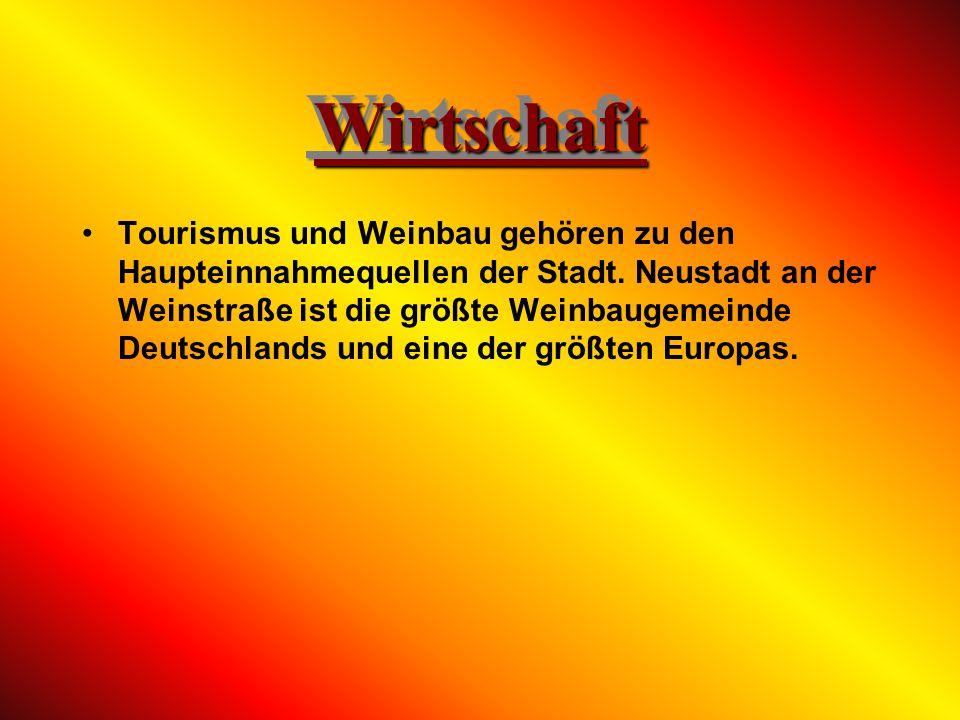 Neustadt an der Weinstraße erhielt für diese Leistung 1997 den