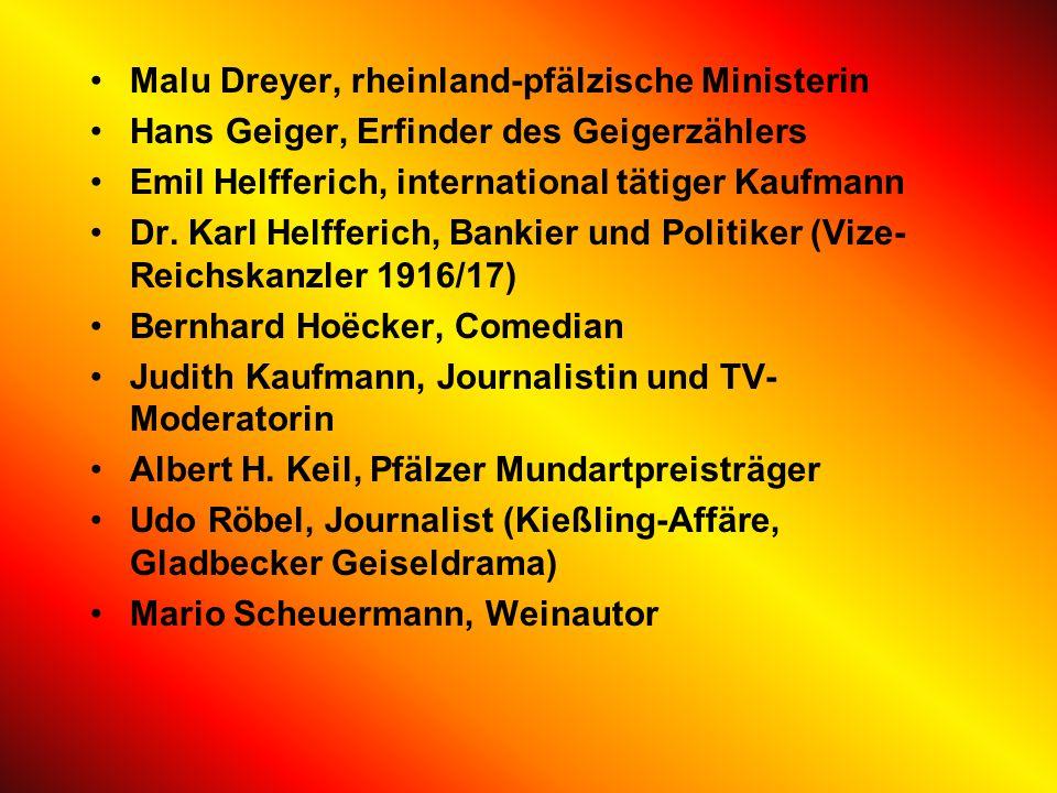 PersönlichkeitenPersönlichkeiten Söhne und Töchter der Stadt Mario Basler, deutscher Fußballnationalspieler Gregor Braun, Rad-Olympiasieger Walter Bru