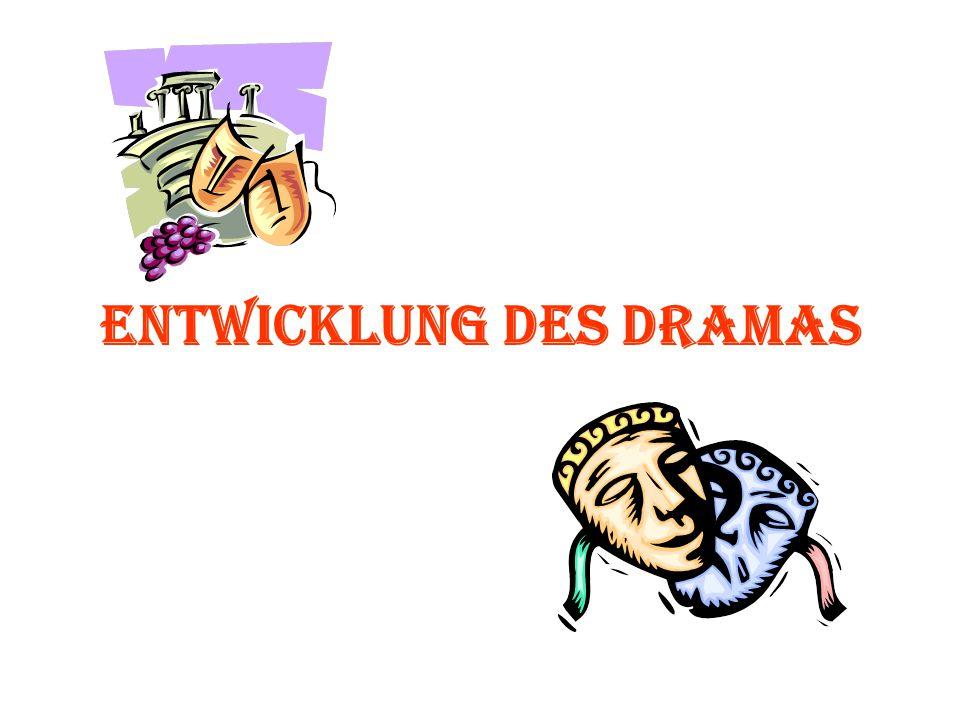 Die Wurzeln des europäischen Dramas Das griechische Drama entwickelte sich aus religi ö sen Chorges ä ngen zu Ehren des Dionysos, des Gottes des Weines und der Vegetation.