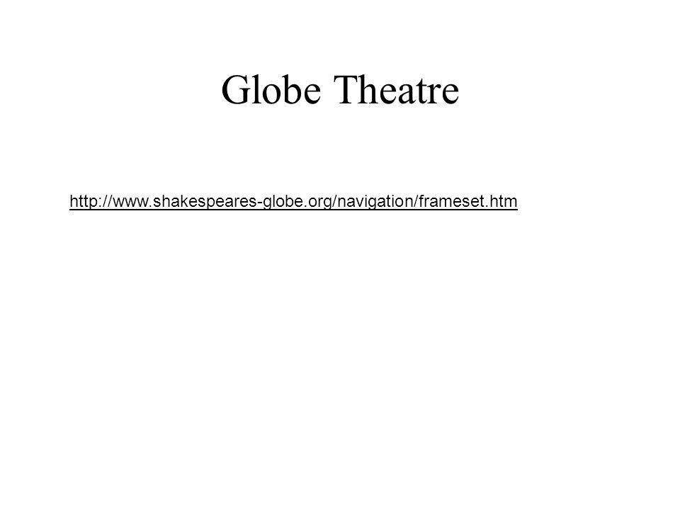 Globe Theatre http://www.shakespeares-globe.org/navigation/frameset.htm