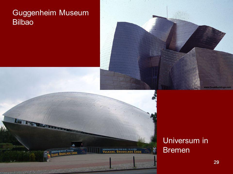 29 Universum in Bremen Guggenheim Museum Bilbao